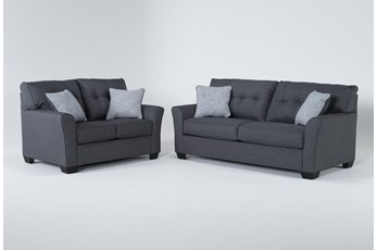 Jacoby Slate 2 Piece Living Room Set