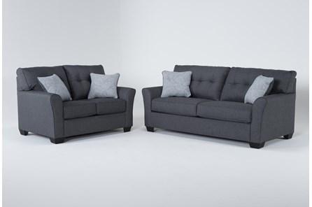 Jacoby Slate 2 Piece Living Room Set - Main