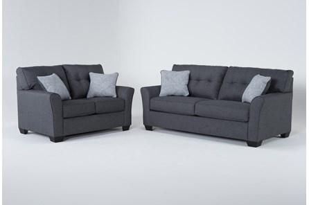 Jacoby Slate 2 Piece Living Room Set With Full Sleeper - Main