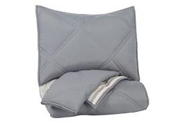 Twin Comforter-2 Piece Set Reversible Stripes