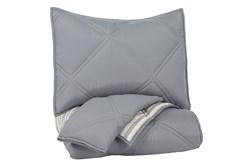 Full Comforter-3 Piece Set Reversible Stripes