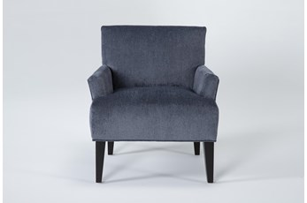 Aspen Sterling Navy Accent Chair