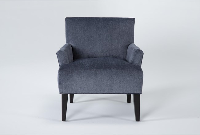 Aspen Sterling Navy Accent Chair - 360