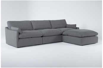 Jil II 3 Piece Sofa With Ottoman