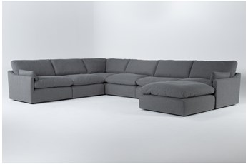 Jil II 6 Piece Sectional With Ottoman