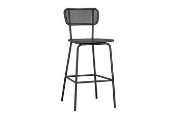 Magnolia Home Mesh Back Barstool By Joanna Gaines