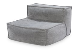 Comfy Upholstered Armless Lounger Chair