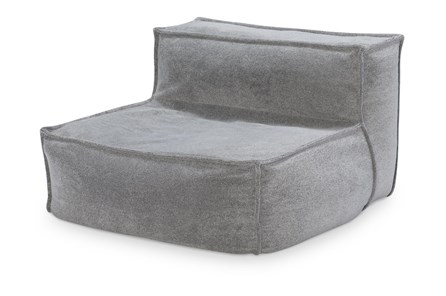 COMFY UPHOLSTERED ARMLESS LOUNGER CHAIR - Main
