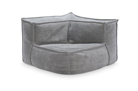 COMFY UPHOLSTERED CORNER LOUNGER CHAIR - Main