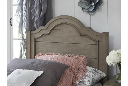Mckinney Full Panel Bed Living Spaces
