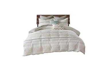 Full/Queen Comforter-3 Piece Set Trim Multi