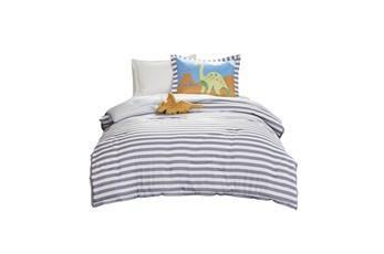 Full/Queen Comforter-4 Piece Set Dinosaur Multi