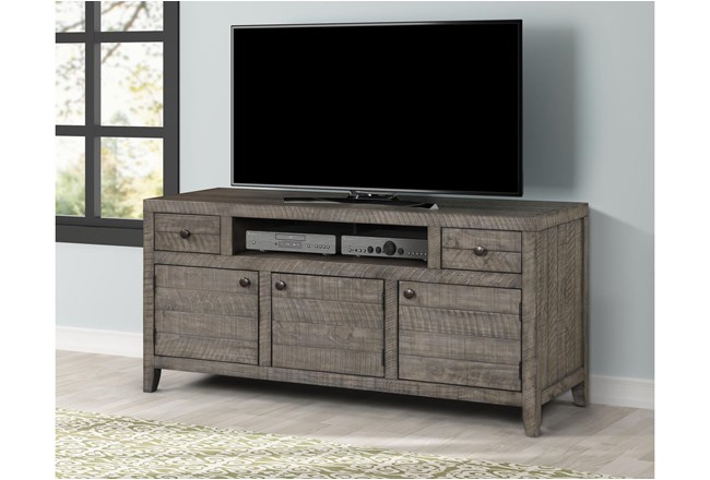 "Peoria Greystone 63"" Tv Stand - 360"