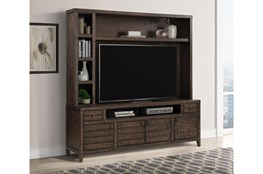 "Peoria Tobacco 84"" 2 Piece Entertainment Center"