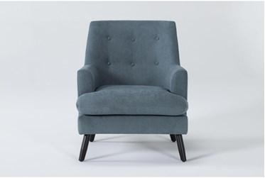 Callisto Denim Accent Chair