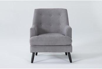 Callisto Steel Accent Chair