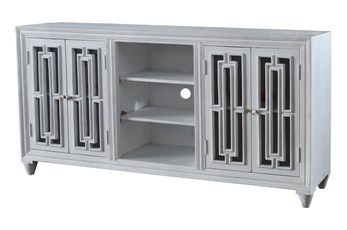 Blaise 4 Door 2 Shelf Cabinet