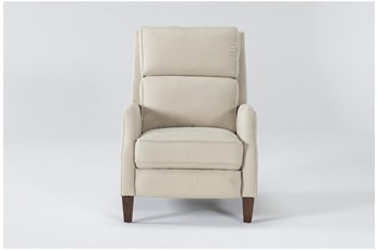 Shawn Taupe Push Back Recliner