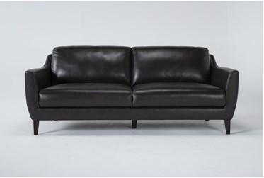 "Gigi III Brown 81"" Sofa"