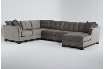 Eireen 3 Piece Sectional With Right Arm Facing Chaise