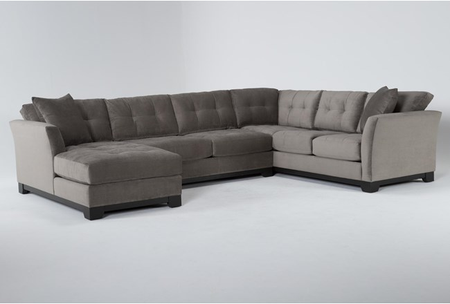 Eireen 3 Piece Sectional With Left Arm Facing Chaise - 360
