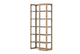Solid Pine Reversible Bookcase