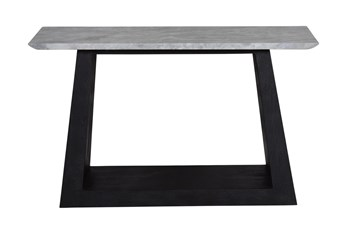 Wood + Marble Console Table