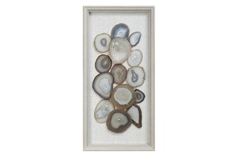 Picture-Natural Blue + Beige Agate 15X30