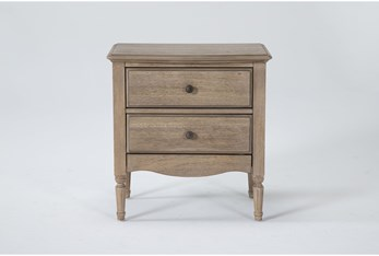 Deliah 2 Drawer Nightstand With Usb