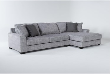 """Elias 127"""" 2 Piece Sectional With Right Arm Facing Chaise"""