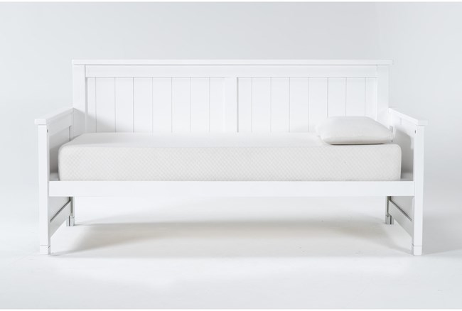 Mateo White Twin Daybed - 360