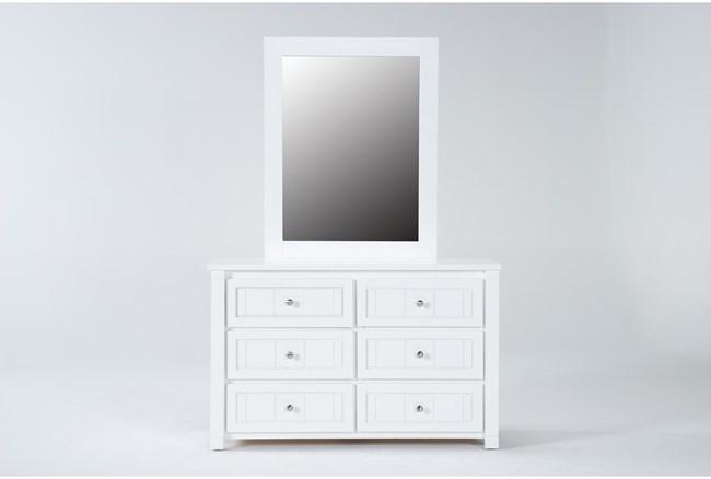Mateo White Dresser/Mirror - 360