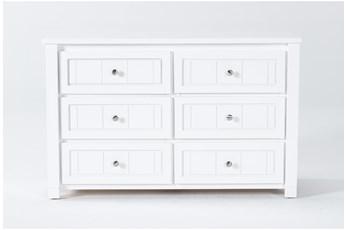 Mateo White Dresser
