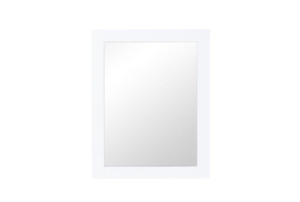 Mateo White Mirror