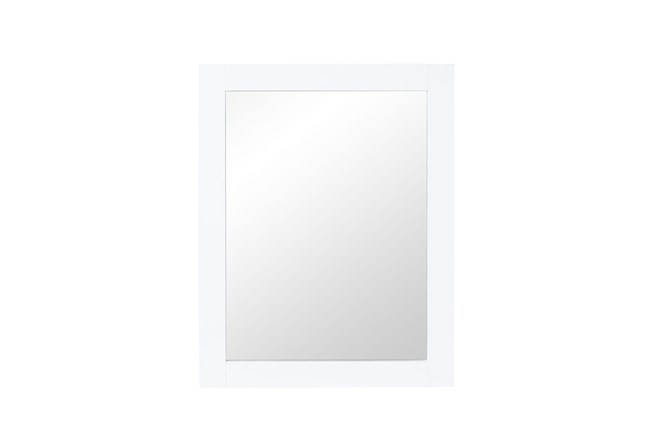 Mateo White Mirror - 360