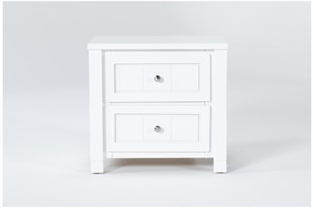 Mateo White Nightstand