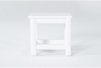 Mateo White Desk Chair