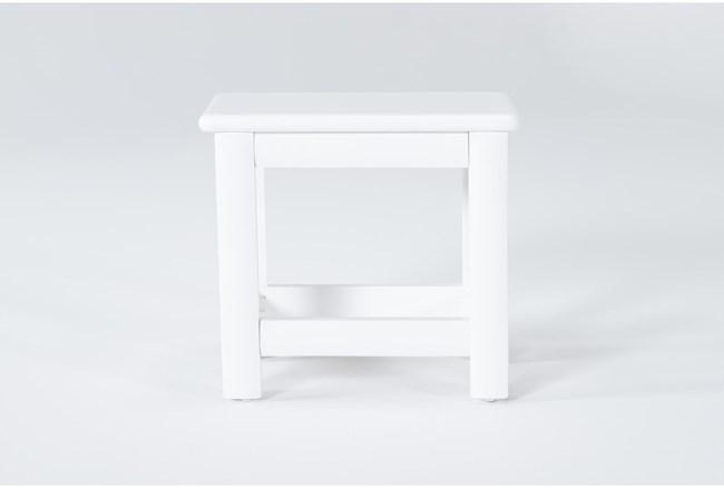 Mateo White Desk Chair - 360