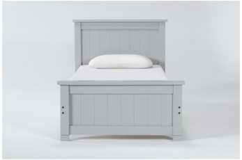 Mateo Grey Twin Panel Bed