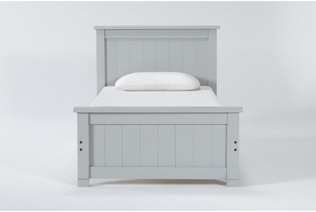 Mateo Grey Twin Panel Bed - 360