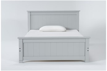 Mateo Grey Full Panel Bed