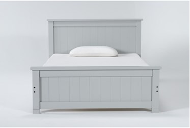 Mateo Grey Full Panel Bed