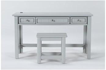 Mateo Grey Desk/Bench