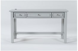Mateo Grey Desk With Usb