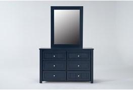 Mateo Blue Dresser/Mirror