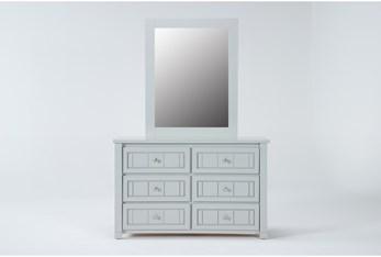 Mateo Grey Dresser/Mirror