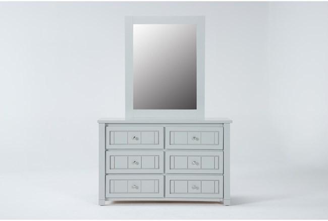 Mateo Grey Dresser/Mirror - 360