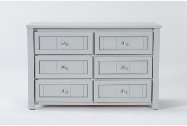 Mateo Grey 6 Drawer Dresser - 360