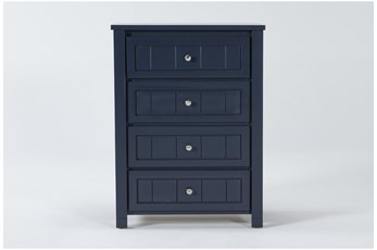 Mateo Blue Chest Of Drawers