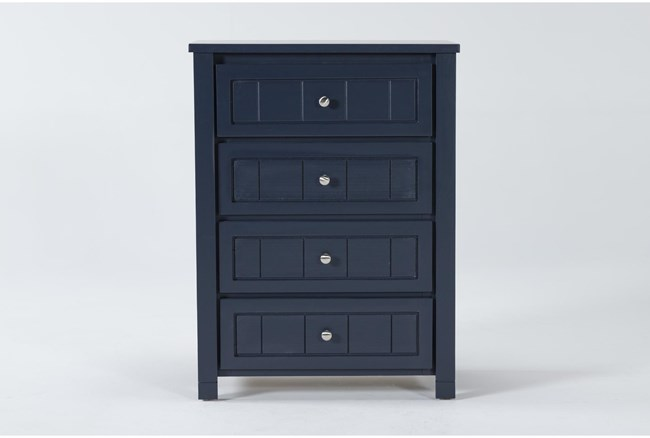 Mateo Blue Chest Of Drawers - 360